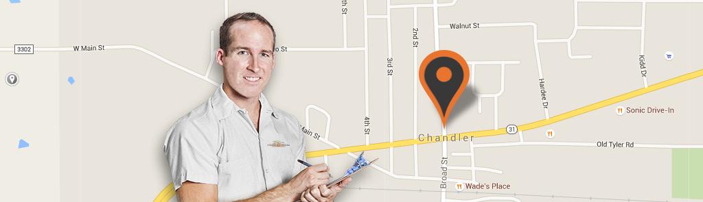 Chandler service area