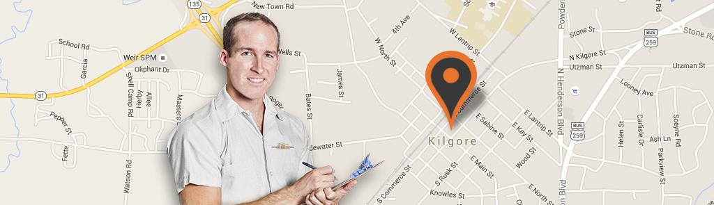 Kilgore service area