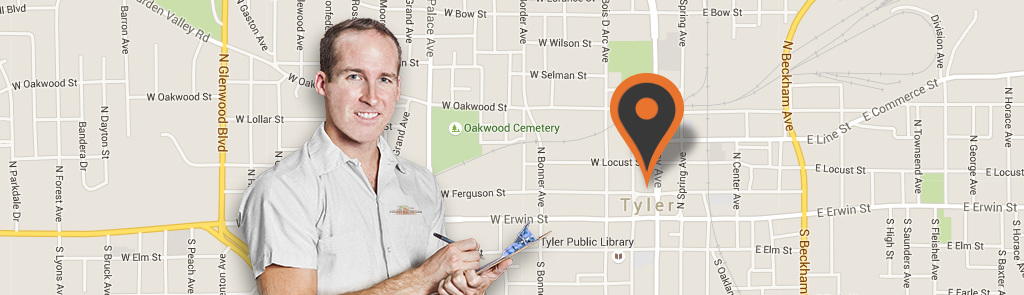 Tyler/Longview service area